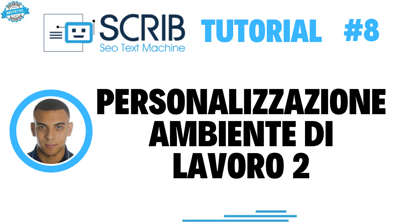Video tutorial - personalization of working environment 2