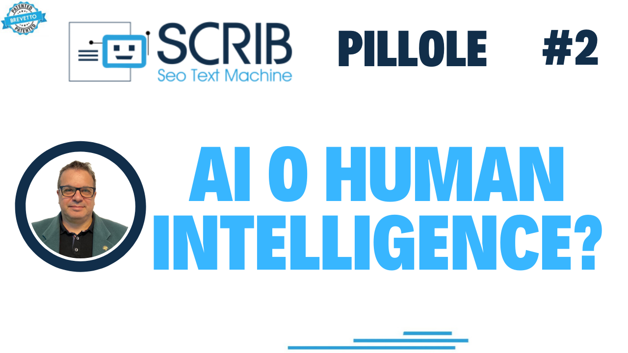SCRIB, Let's dispel the myth ... AI or Human Intelligence?